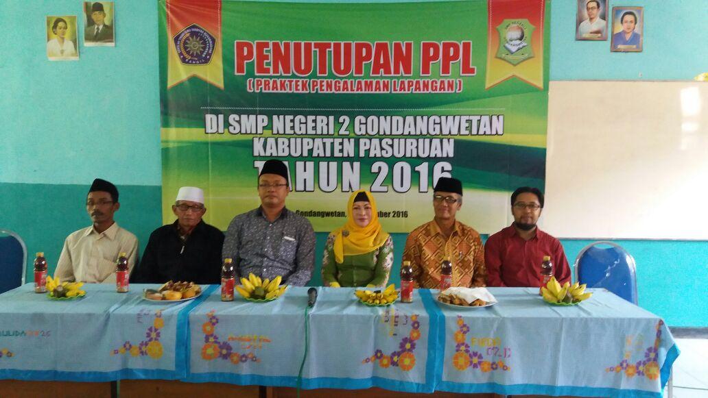 Penutupan PPL tahun 2016