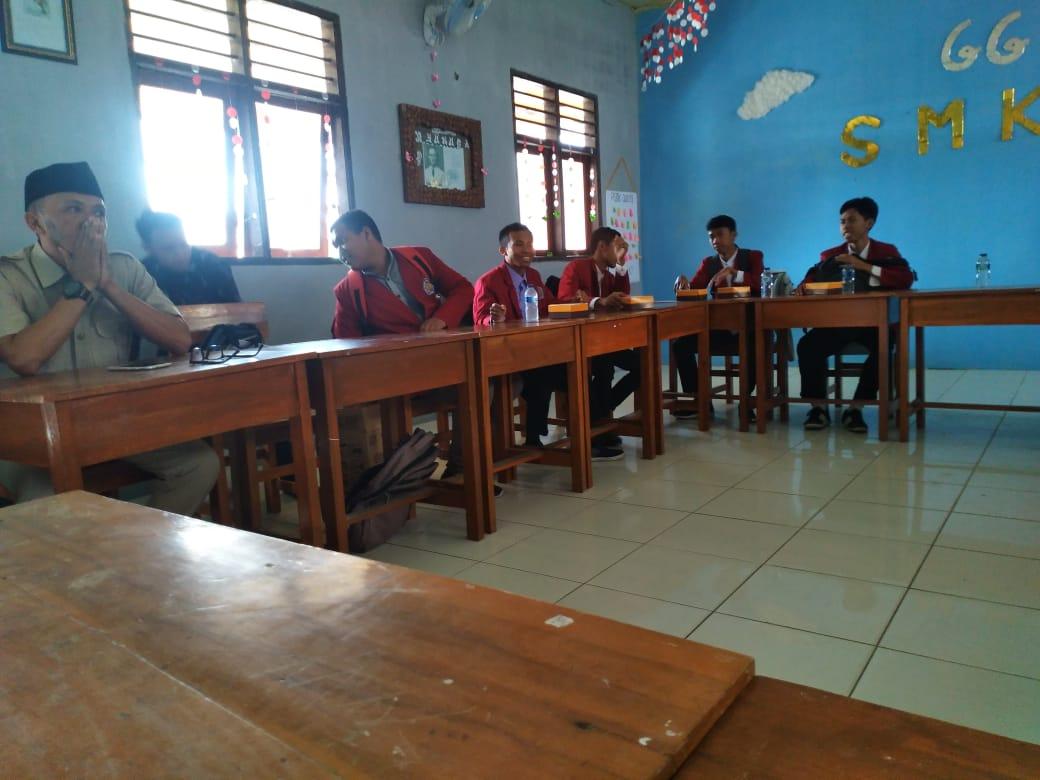 PEMBUKAAN MAGANG MAHASISWA SEMESTER V STIT MUHAMMADIYAH BANGIL DI SMK MUHAMMADIYAH 1 PANDAAN